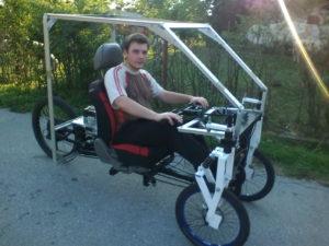 Ivan Golubic with Gmobile autonomous