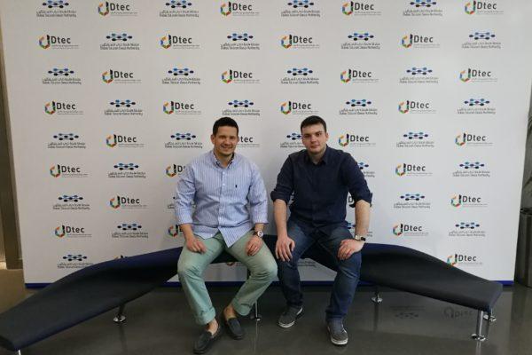 Luka Beban and Ivan Golubic, founders in Dubai
