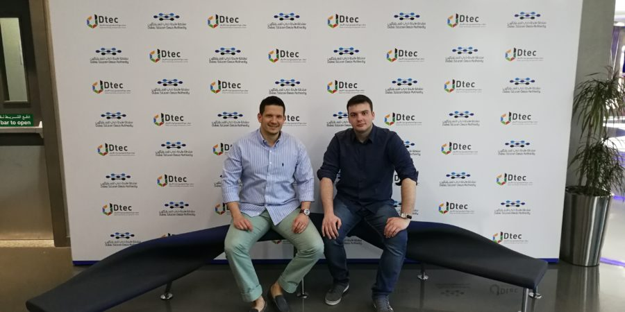 Luka Beban and Ivan Golubic, founders in Dubai