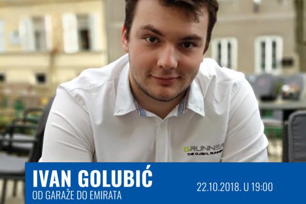Od garaže do Emirata - Ivan Golubić